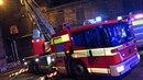 Jedenáct hasičských vozidel likvidovalo požár bývalé kotelny v průmyslovém...