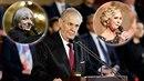 Zemanovi při oslavě inaugurace zazpívalo několik slavných jmen.