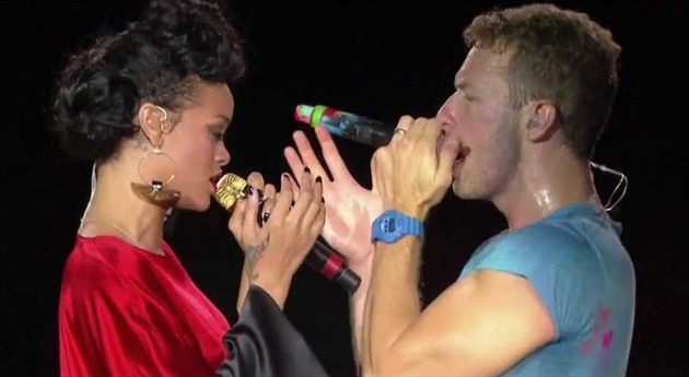 Rihanna a Coldplay