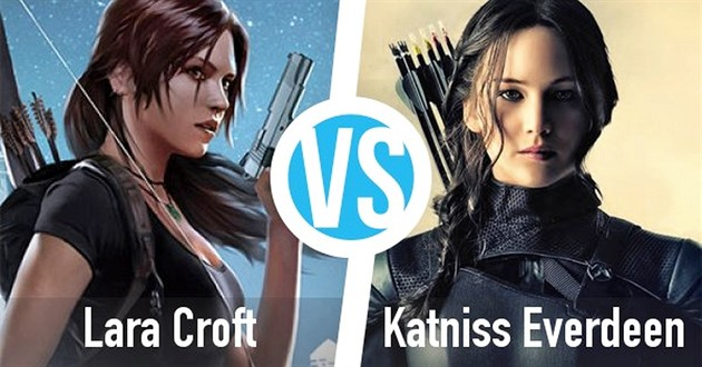 Lara Croft vs Katniss Everdeen