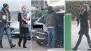 Kateřina a Tomáš byli zastiženi na benzínové pumpě, kde Tomáš tankoval, Katka...