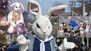 Není velikonoční zajíček spíše strašidelná postava?