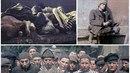 Kolorované snímky z koncentračního tábora Dachau nahánějí hrůzu.