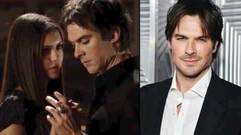 Damon a elena z upírských deníků