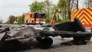 VOstravě-Hrabové se střetl osobní automobil značky Opel Corsa snákladním...