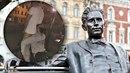 Vandalové předstírali sex se sochou Jiřího Wolkera!