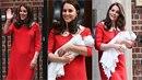 Usměvavá a šťastná Kate nevyšla z kosmetického salónu, ale z porodnice, kde ten...