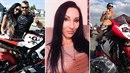 Jana, stejně jako manžel Tomáš, miluje motorky.