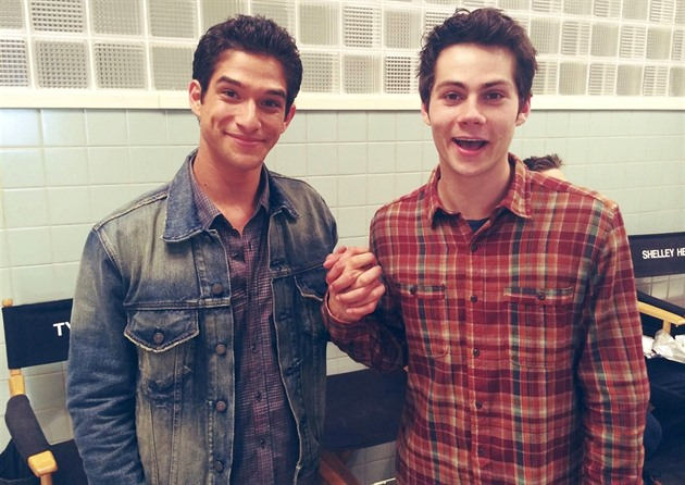 Tyler Posey a Dylan O´Brien