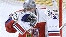 Pavel Francouz vychytal Česku vítězství nad Švýcarskem na mistrovství světa.
