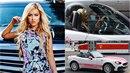 Dominika Myslivcová manipujuje za jízdy s mobilem.