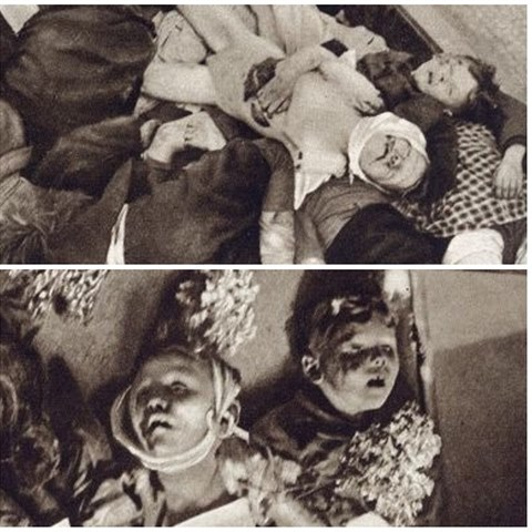 V Úsobské ulici zemřely rukou nacistů desítky nevinných lidí.