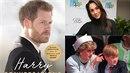 O princovi vyšla nová kniha, ve které autorka píše, že Meghan Harrymu nahrazuje...