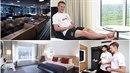 Čeští hokejisté jsou ubytováni v jednom z nejluxusnějších hotelů v Kodani.