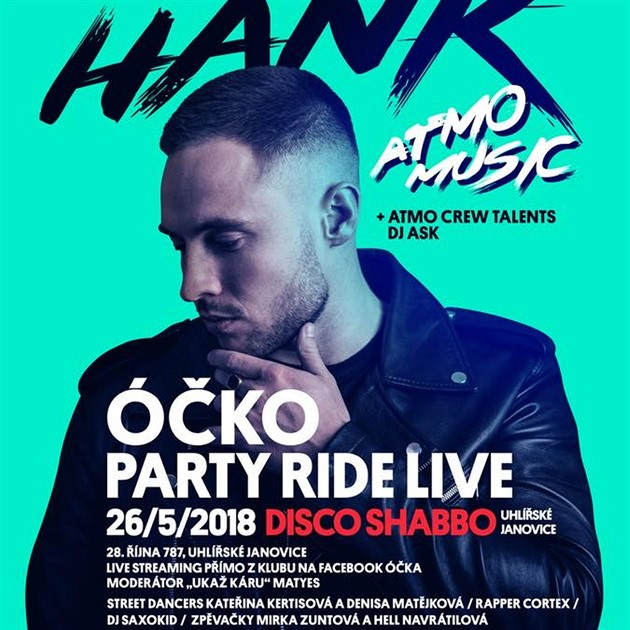 HANK / ÓČKO PARTY RIDE