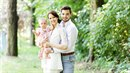 Malá Emilka nesměla na svatebních fotografiích chybět.