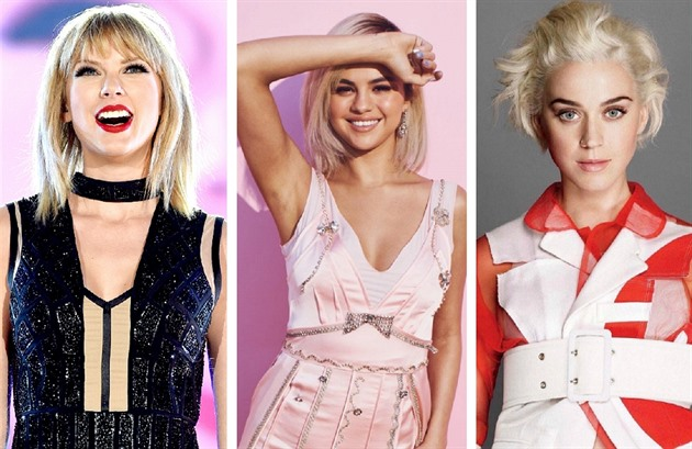 Taylor Swift / Selena Gomez / Katy Perry