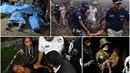 V místě výbuchu guatemalské sopky uhořely desítky lidí, další popálené...