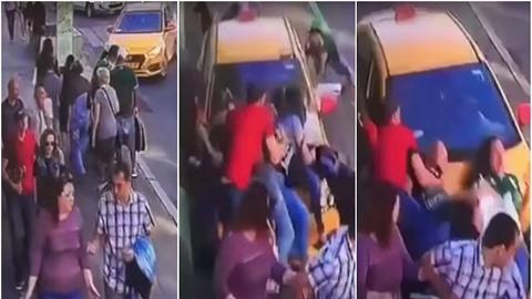 Taxikář v Moskvě najel do davu lidí. Sedm z nich zranil.