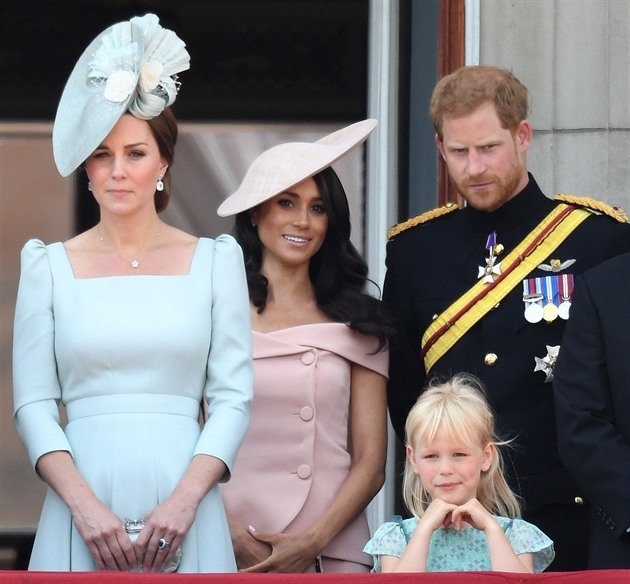 Kate Middleton, Meghan Markle, princ Harry