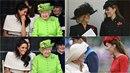 Zdá se, že královský palác se rozdělil na dva páry nejlepších kamarádek.
