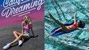 Veronika posílá pozitivní vlny z bazénu.