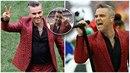 """Robbie měl na sobě pozoruhodný oblek. Nepochopitelně ale """"vyfuckoval"""" miliony..."""