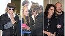 Johnny Depp při odletu z Prahy rozdával podpisy, Alice Cooper se fotil s...