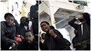 Migranti se dočkali přijetí ve španělské Valencii. Řada z nich neskrývala...