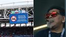 Rebel Maradona se s tím nemaže. Doutník si zapaluje přímo pod zákazem kouření!