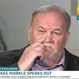Otec Meghan Markle poskytl interview pro Good Morning Britain.