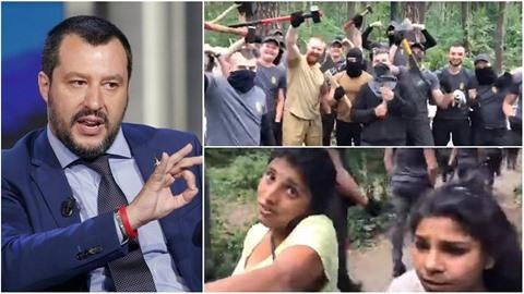 Italský ministr vnitra Matteo Salvini chce sčítat a vyhošťovat Romy. Na...