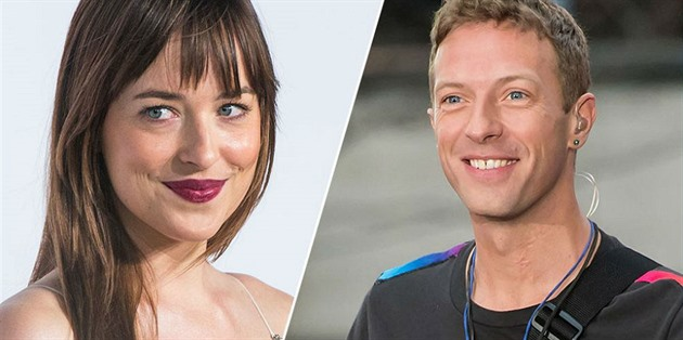 Dakota Johnson a Chris Martin