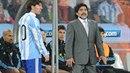 Idol a jeho nástupce. Diego Maradona a Lionel Messi. Maradonovy výroky a...