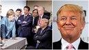Donald Trump prý na summitu řádil jako černá ruka!
