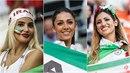 Fanynky Íránu rozzářily probíhající mistrovství světa v Rusku. Spoustě muslimů...
