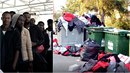 Migranti z lodi Aquarius měli vyházet oblečení od Červeného kříže do popelnic!