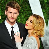 Liam Hemsworth a Miley Cyrus