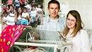 Rodiče čtyřčat budou vděční za případnou podporu dárců, rozhodli se však zůstat...