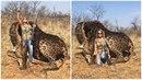 Tess Thompsonová Talleyová z Kentucky se pochlubila tím, že zastřelila v Africe...
