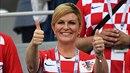 Chorvatská prezidentka Kolinda Grabar Kitarovič je sympaťačka!