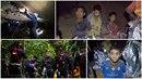 Chlapci uvěznění v thajské jeskyni poslali rodičům dojemné dopisy. Na pomoc se...