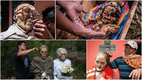 Tarajané z indonéského ostrova Sulawesi mají zvláštní tradici. Jednou za tři...