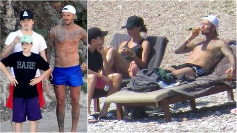 Slavní Beckhamovi vyrazili na dovolenou do milované destinace Čechů.