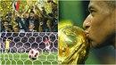 Mistrovství světa je u konce a Francie slaví.