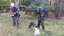 Hasiči pomáhali paraglidistovi, který uvázl ve větvích stromů.