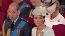 Princ William se  na 100. výročí královského letectva neubránil smíchu, zatímco...