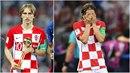Luka Modrič, který byl zvolen nejlepším hráčem turnaje, čelí obvinění z podání...