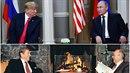 Donald Trump včera jednal s Vladimirem Putinem. Jejich summit se velmi podobá...