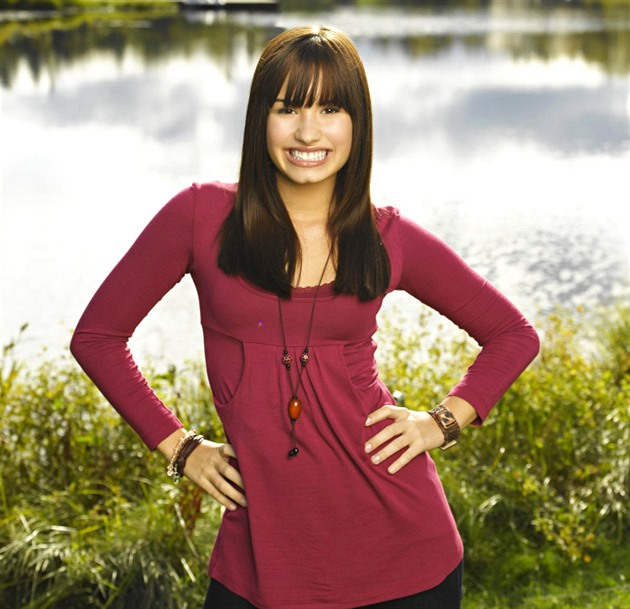 Demi Lovato ve filmu Camp Rock.